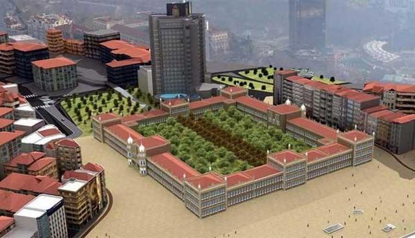 Gezi Parkı'na Topçu Kışlası, Taksim'e camii, AKM'ye opera binası geliyor