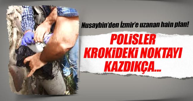 İzmir için planlanan saldırının krokileri Nusaybin'de ortaya çıktı
