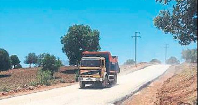 İmecik Yaylası'na asfalt çalışması