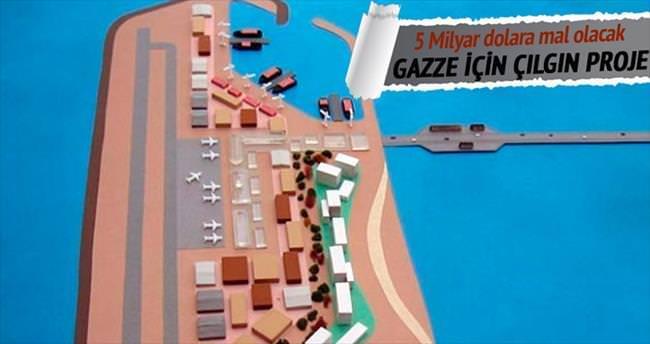 Gazze'ye yardımlar için suni ada önerisi
