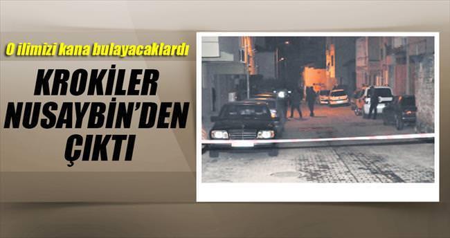 Krokiler Nusaybin'den bombalar İzmir'den çıktı