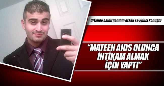 Orlando saldırganının erkek sevgilisi konuştu
