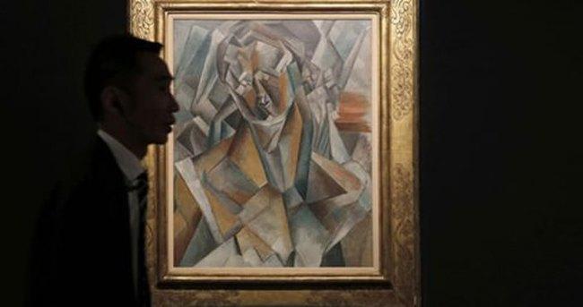 Picasso'nun tablosuna 64 milyon dolar