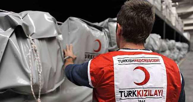 Türk Kızılayından Filistin'e yardım eli