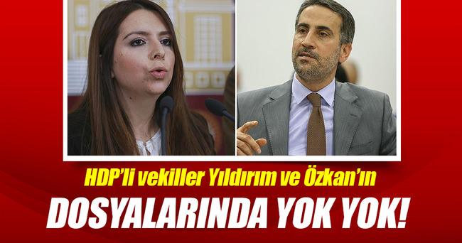 HDP'li vekillerin dosyalarında yok yok!