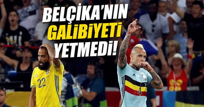 İsveç - Belçika maç sonucu