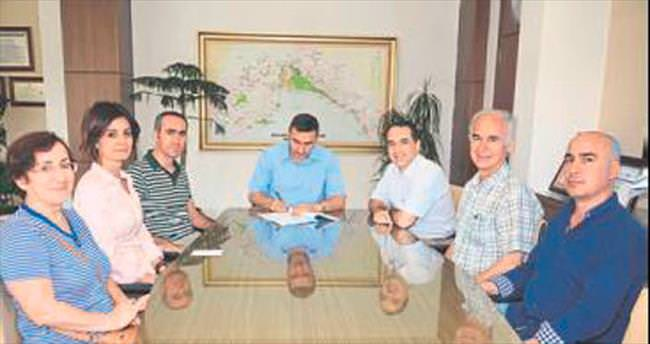 Türkmentepe için imzalar atıldı