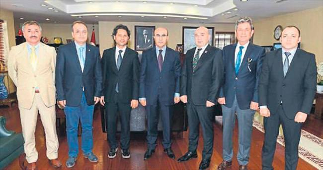 TSYD yönetiminden Vali Demirtaş'a ziyaret