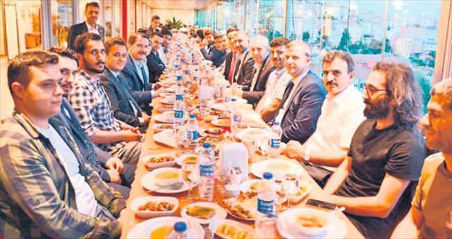 UMED'in iftarında adil medya vurgusu