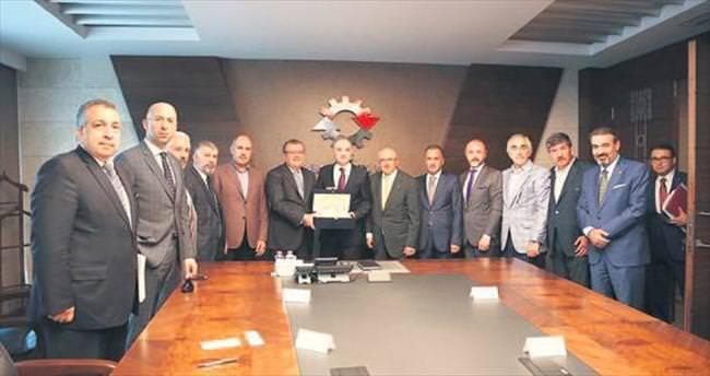ATO'dan Bakan Faruk Özlü'ye ziyaret