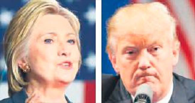 Clinton-Trump farkı yüzde 9