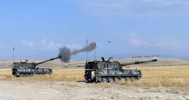Türkiye'yi hedefe koyan DAEŞ mevzileri vuruldu!