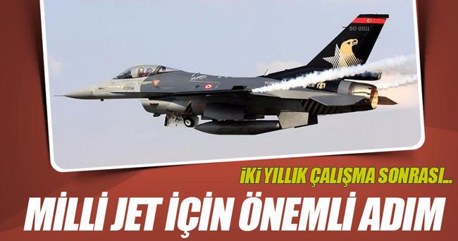 Yerli jet için önemli adım!