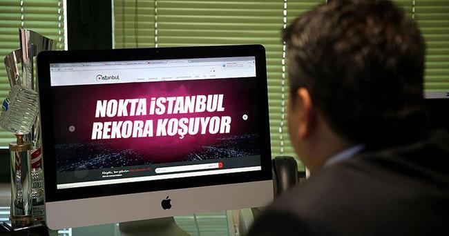 'Nokta İstanbul' rekora koşuyor