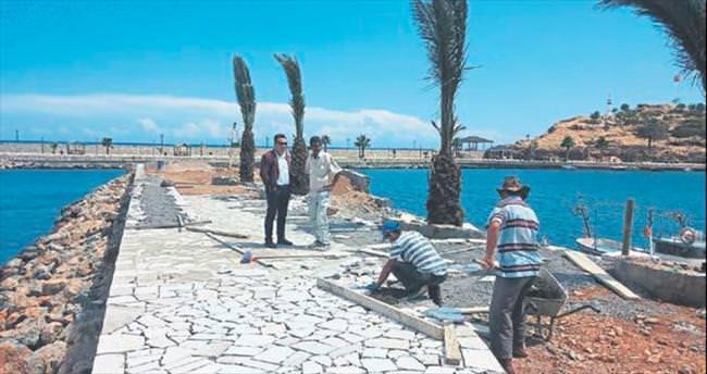 Aydıncık Limanı yapılandırılıyor