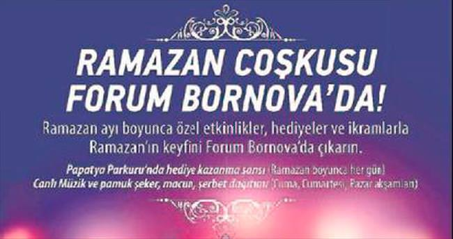 Forum Bornova'da Ramazan şenliği