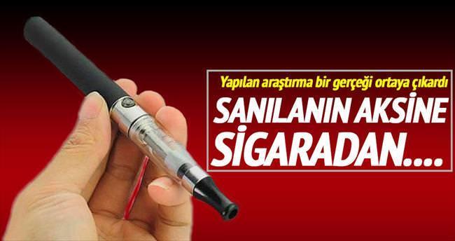 E-sigara da sigara kadar zararlı çıktı