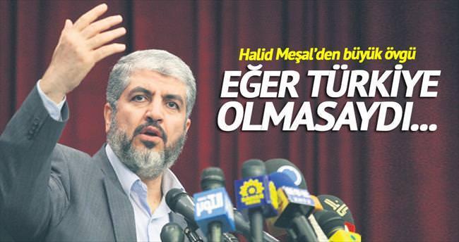 Halid Meşal'den Türkiye'ye teşekkür