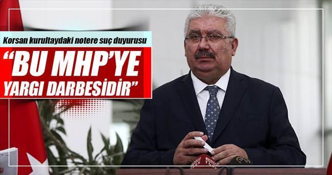 MHP'den notere suç duyurusu