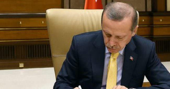 Cumhurbaşkanı Erdoğan, 6720 sayılı kanun'u onayladı