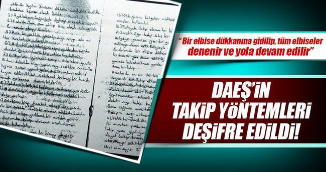 Polis, DAEŞ'in istihbarat yöntemlerini deşifre etti