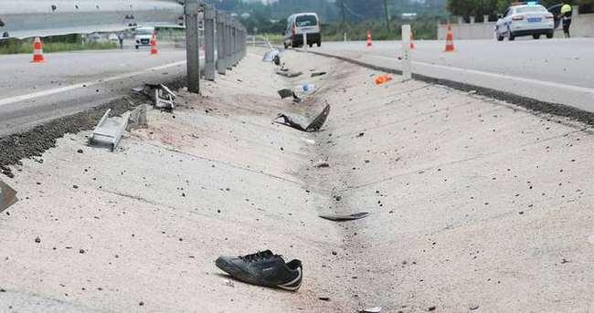 Karayolları işçilerine araç çarptı: 2 ölü, 2 yaralı