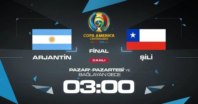 Copa America'da final heyecanı A Spor'da!