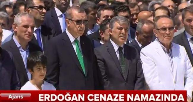 Erdoğan Ali Karaalioğlu'nun cenaze töreninde