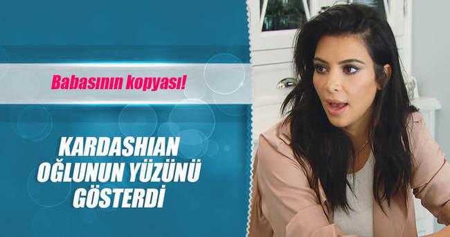 İşte Kim Kardashian'ın oğlu