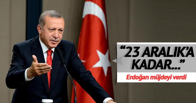 quot 23 Aralık'ta Boğaz'ın altından geçişi de açacağız quot