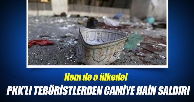 Teröristlerden camiye hain saldırı