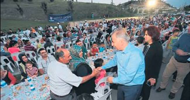 Ramazan bereketi Ak Vadi'ye taşındı