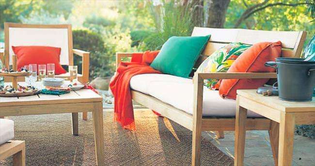 Yazın hayat verandada
