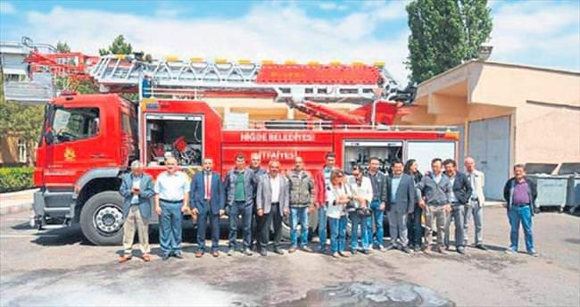 Kamu kurumlarına temel yangın eğitimi