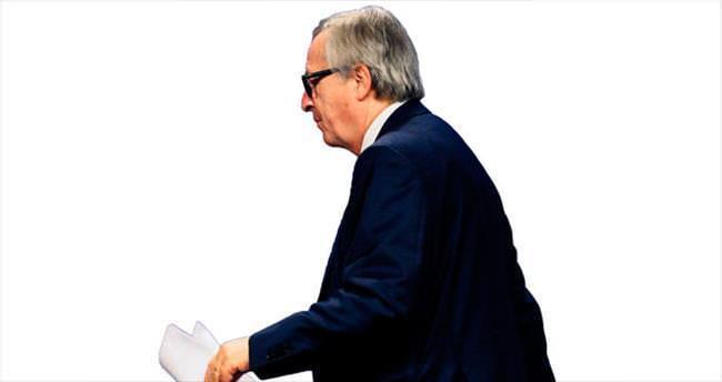 Juncker soruya kızdı toplantıyı terk etti