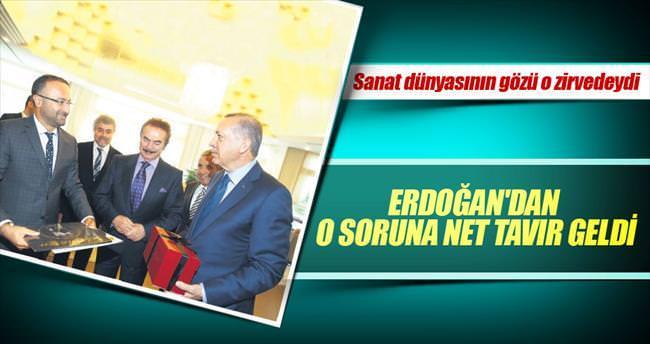 Erdoğan'dan dijital korsanlığa net tavır