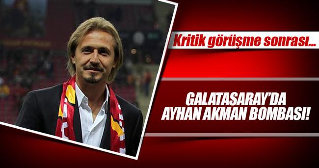 Riekerink'in yardımcısı Ayhan Akman oluyor!
