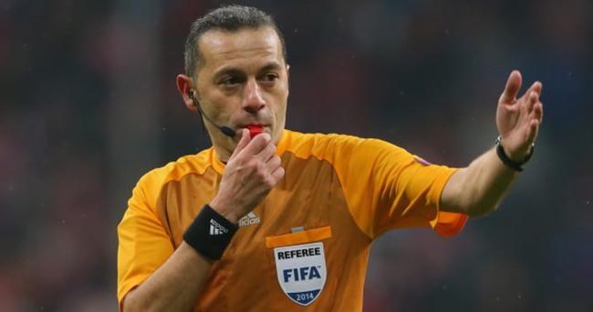EURO 2016'daki dev maç Cüneyt Çakır'ın