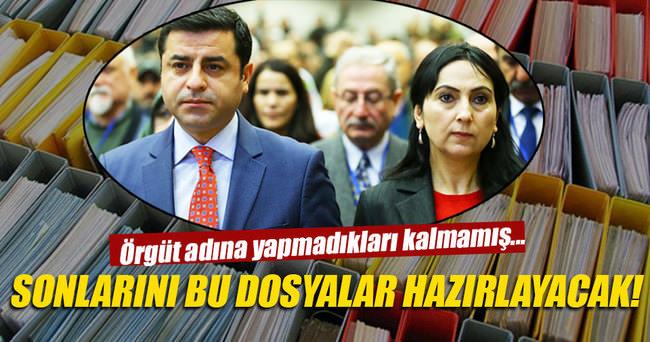HDP milletvekillerinin dosyaları kalın