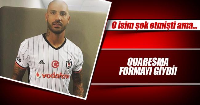 Quaresma, yeni sezon formasını giydi!