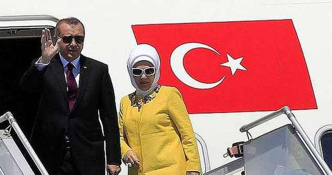 Cumhurbaşkanı Erdoğan Kayseri'ye gitti