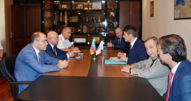 Azerbaycan Gümrük Komitesi Başkanı Aliyev, Türk İş Adamları ile buluştu