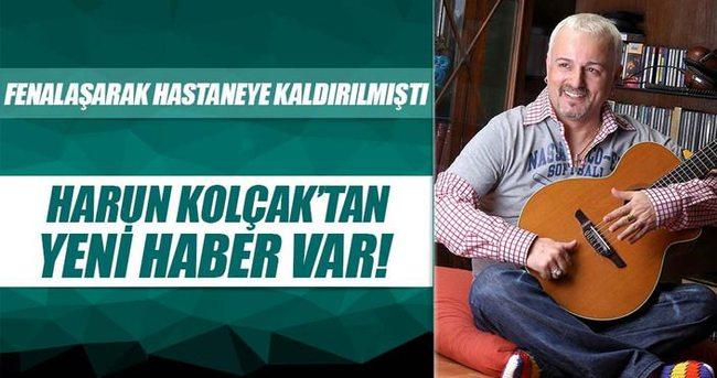 Harun Kolçak'tan yeni haber!