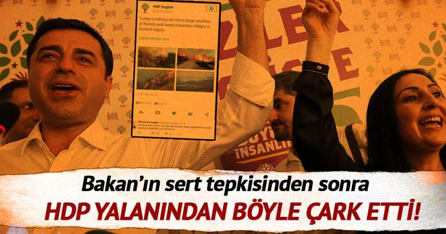 Bakan'ın sert tepkisi sonrası HDP özür diledi!