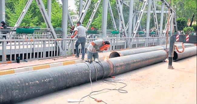 Manavgat'ta içme suyu sorunu bitti