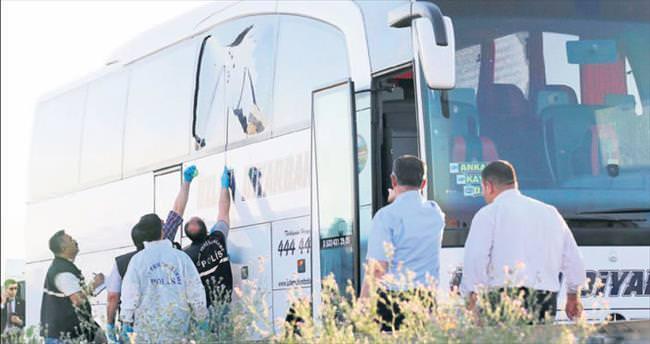 Otobüs saldırganı suç makinesi çıktı