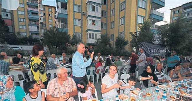 Denizli'de gönül sofrası Yenişehir'de kuruldu