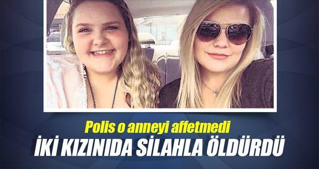 Kızlarını vuran anne öldürüldü