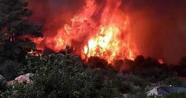 Olimpos'ta yangın