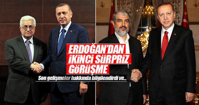 Cumhurbaşkanı Erdoğan, Abbas'la telefonda görüştü